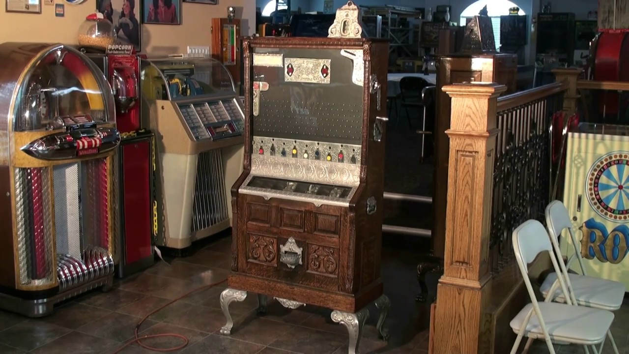 The CRICKET  - Mills Novelty Company Coin Drop Payout Gambling Machine