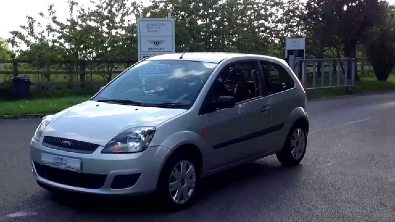 2006 06 ford fiesta style 3dr 18800 miles with full. Black Bedroom Furniture Sets. Home Design Ideas