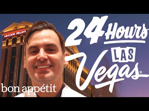 Working 24 Hours Straight in Las Vegas | Bon Appétit