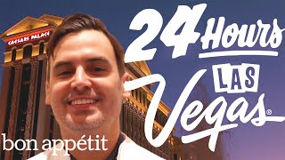 Working 24 Hours Straight In Las Vegas | Bon Appétit