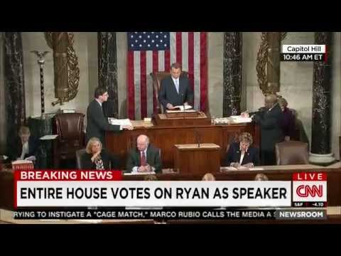 Paul Ryan officially elected Speaker of the House