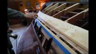 Cutting Rabbet Joint Into Chine (part 2) (preview) Wooden Boat Restoration