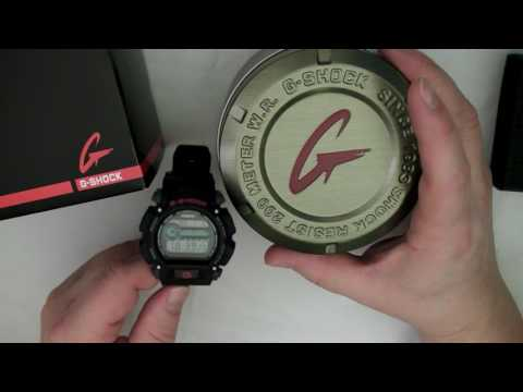 G-Shock Care and Cleaning