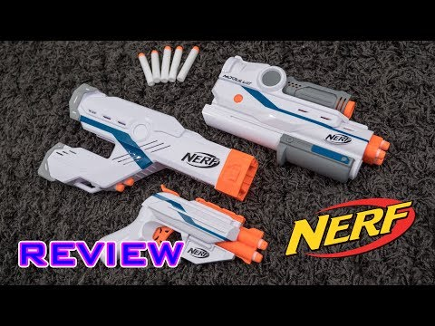 [REVIEW] Nerf Modulus Mediator Attachments | Barrel & Stock!