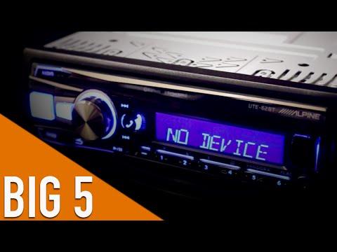 Alpine UTE-62BT - Big 5 Electronics