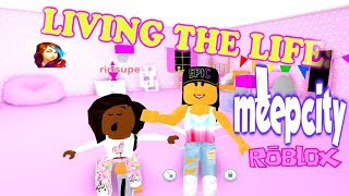 LIVING LIFE IN MEEP CITY ( ROBLOX MANSION TOUR AND MORE)