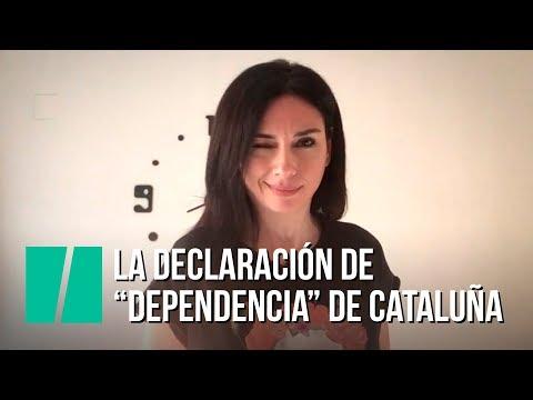 """""""La declaración de dependencia de Cataluña"""", por Marta Flich"""
