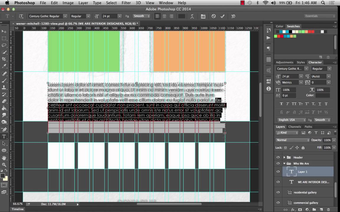 Completing Vector Wireframe PART 3