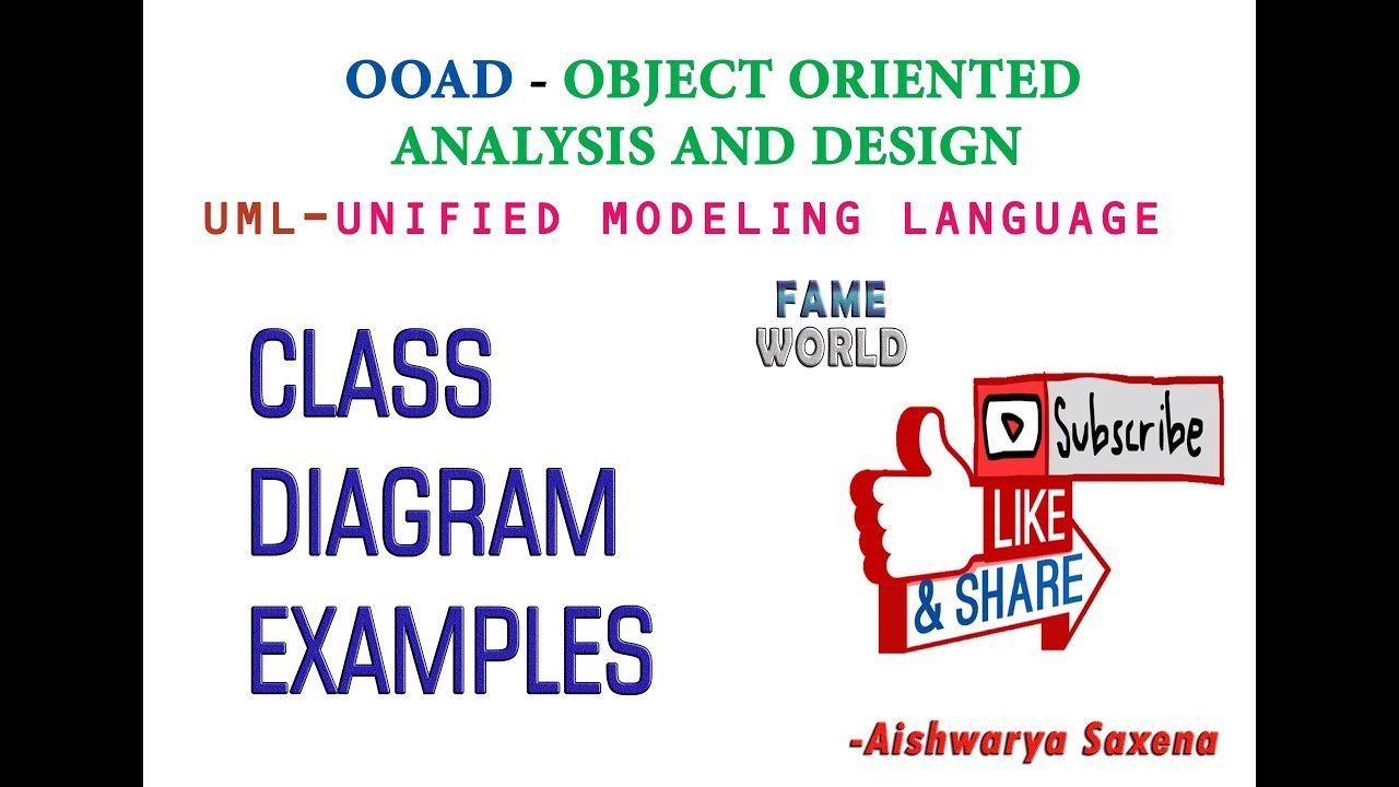 Lecture - 8 - Uml - Class Diagram - Example -2 - Search Engine