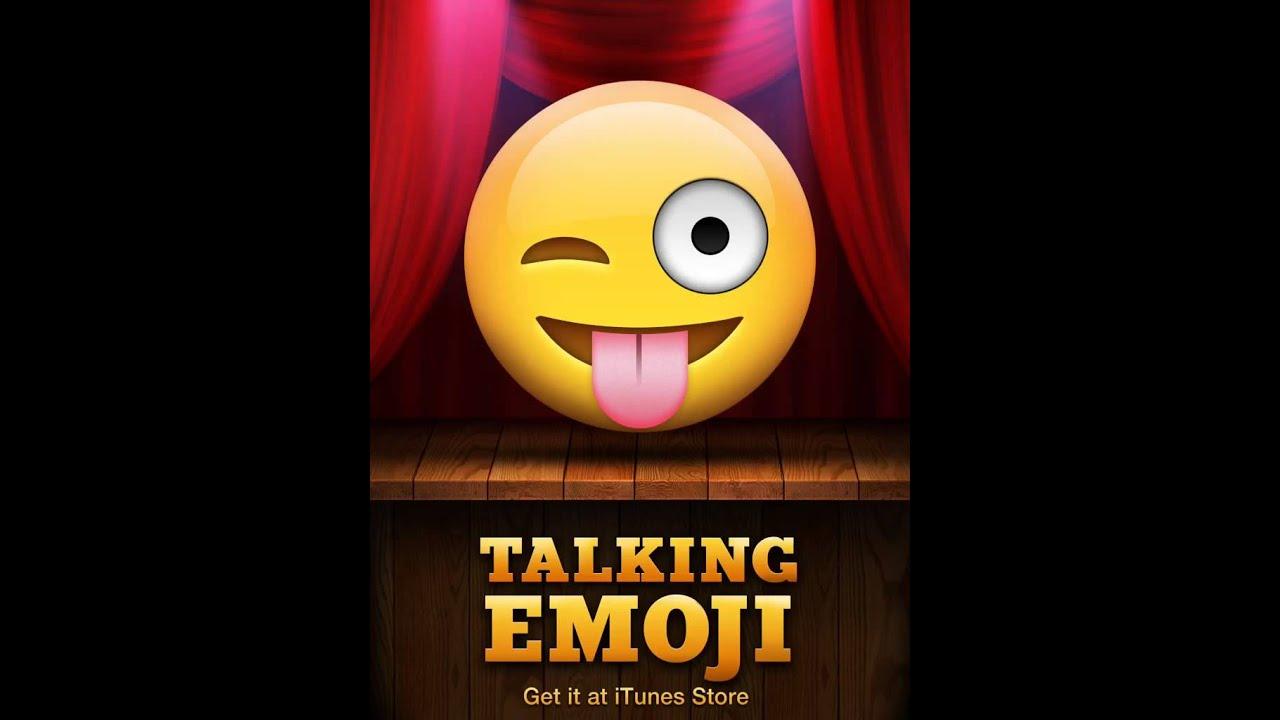 Talking Emoji App