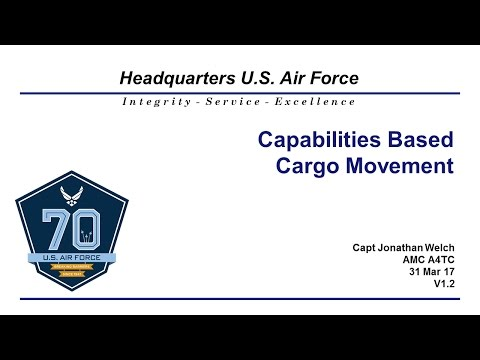 Port Capacity Briefing