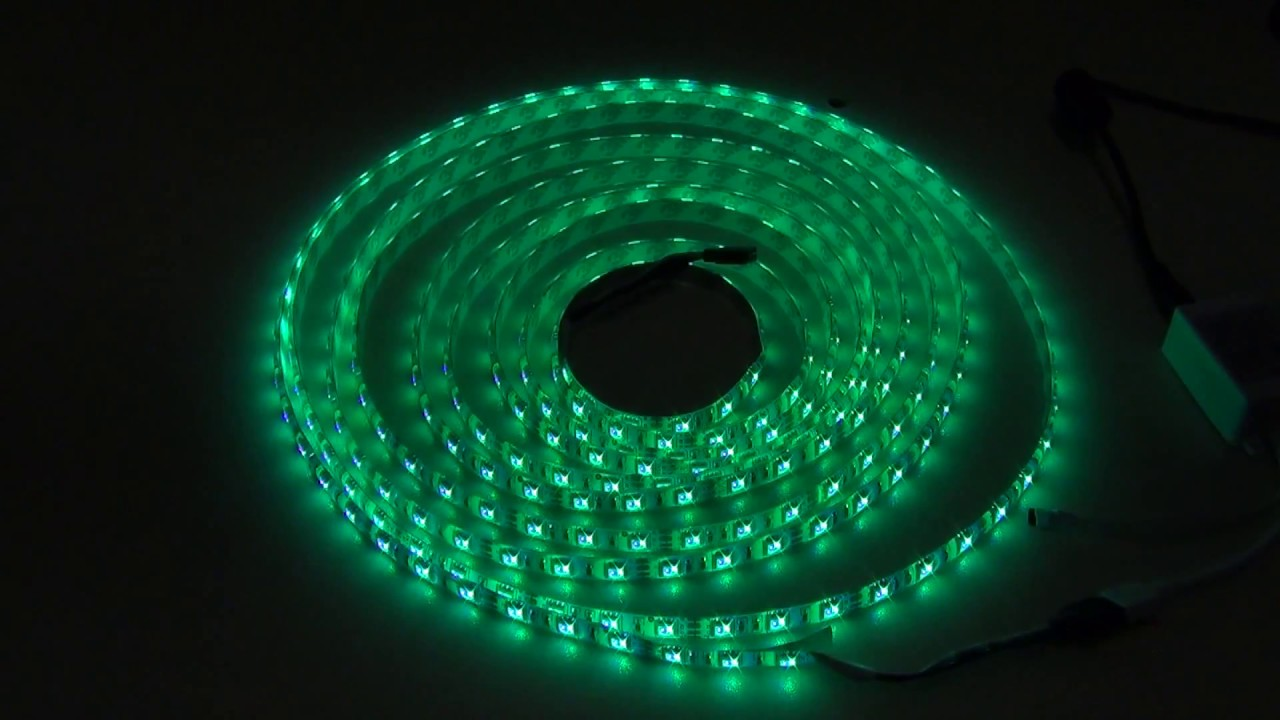 5m smd 5050 rgb waterproof 300 led strip light 44 key controller 12v youtube premium aloadofball Image collections
