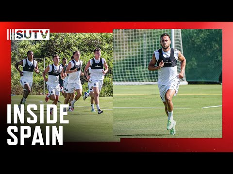 Inside Spain | Sheffield United training in 42°C | Running, possession & small sided game! 🥵