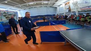 Открытие. Турнир по настольному теннису город Гагарин 9 апреля 2021. 2004-2008 год рождения.