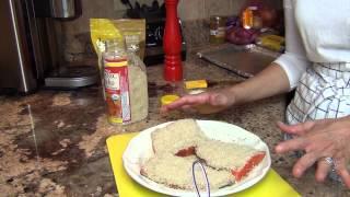 Healthy Zone...crusted Horseradish Dijon Salmon