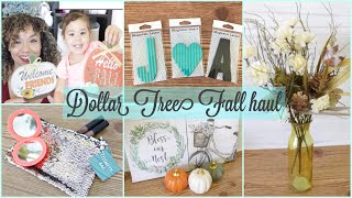 DOLLAR TREE HAUL August 2018 Fall Decor