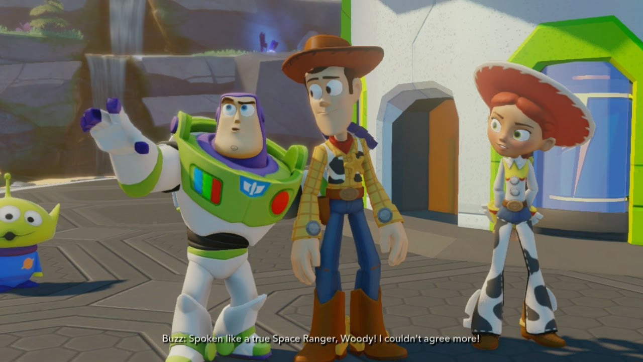 Disney Infinity Toy Story In Space Part 1 Youtube