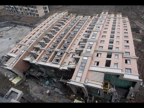 Смотреть Самые страшные обрушения домов | The worst collapse of buildings онлайн