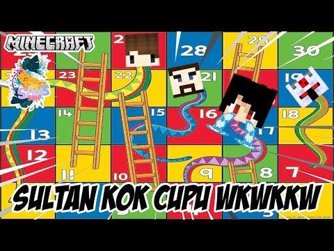 Ternyata Sultan Azuya Surya Cupu Main Ini Wkwk Minecraft Sans Smp Youtube