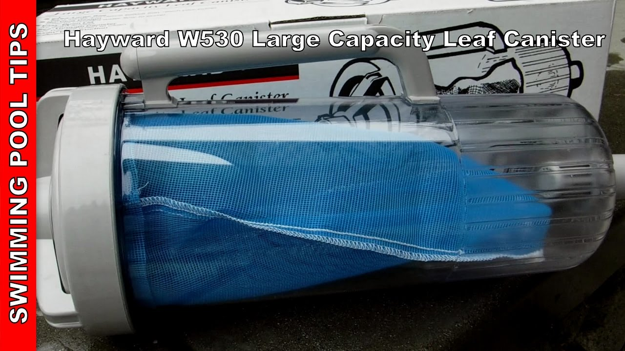 Hayward W530 Large Capacity Leaf Canister With Mesh Bag