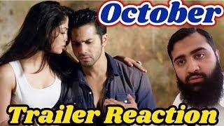 Pakistan React on October | Official Trailer | Varun Dhawan | Banita Sandhu | AS Reactions