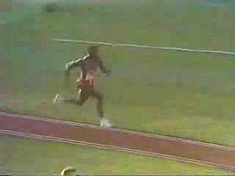 1984 Olympics long jump, Carl Lewis