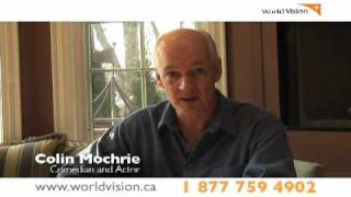 Colin Mochrie Urges Help for Haiti   World Vision