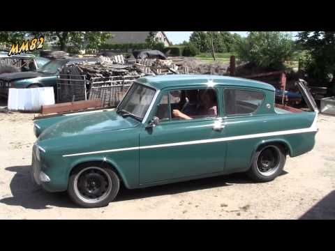 Ford Anglia v8, Sas style driving away #17