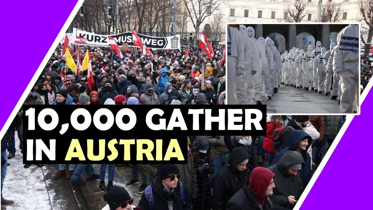 10,000 Austrian's Take To The Streets Vienna / Hugo Talks #lockdown