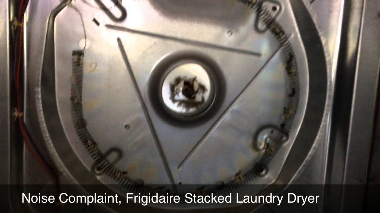 Superb Frigidaire Stacked Laundry With A Noisy Dryer