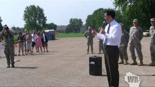 Wisconsin Gov. Scott Walker Welcomes National Guard Home.mpg