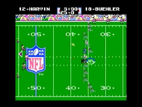 NES Tecmo Super Bowl 2010 - Minnesota Vikings - Week 6