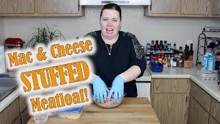BUTTER & SALT - Mac & Cheese Stuffed Meatloaf