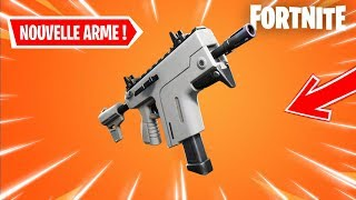 [🔴LIVE FORTNITE] THE STATS OF THE NEW ARME ARE FUITÉ! THIS SMG A RAFALE VA BE CHEAT!