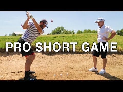GETTING A TOUR PRO SHORT GAME | Brodie Smith Golf & Cameron McCormick