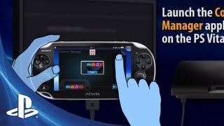 Content Manager for PS Vita systems