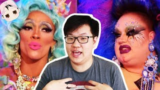 Straight Men Watch Drag Race For The First Time: Season 10 Episode 7