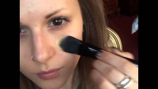 ILLAMASQUA FOUNDATION BRUSH Demo for BATD