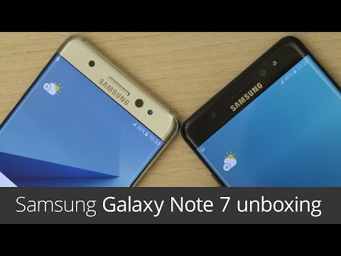 Samsung Galaxy Note 7 (unboxing)