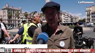 Le 18:18 - Marseille : les usagers du vélo dans l'incompréhension après la fin de la piste du Prado