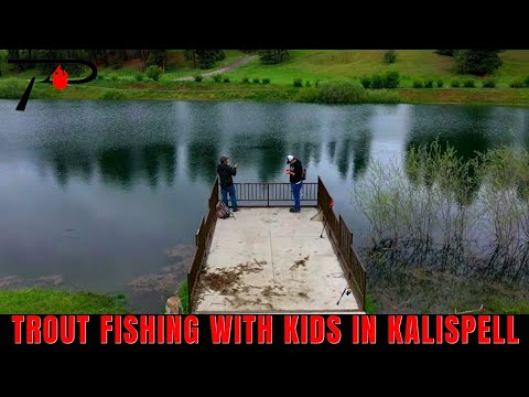 Trout Fishing With Kids In Kalispell