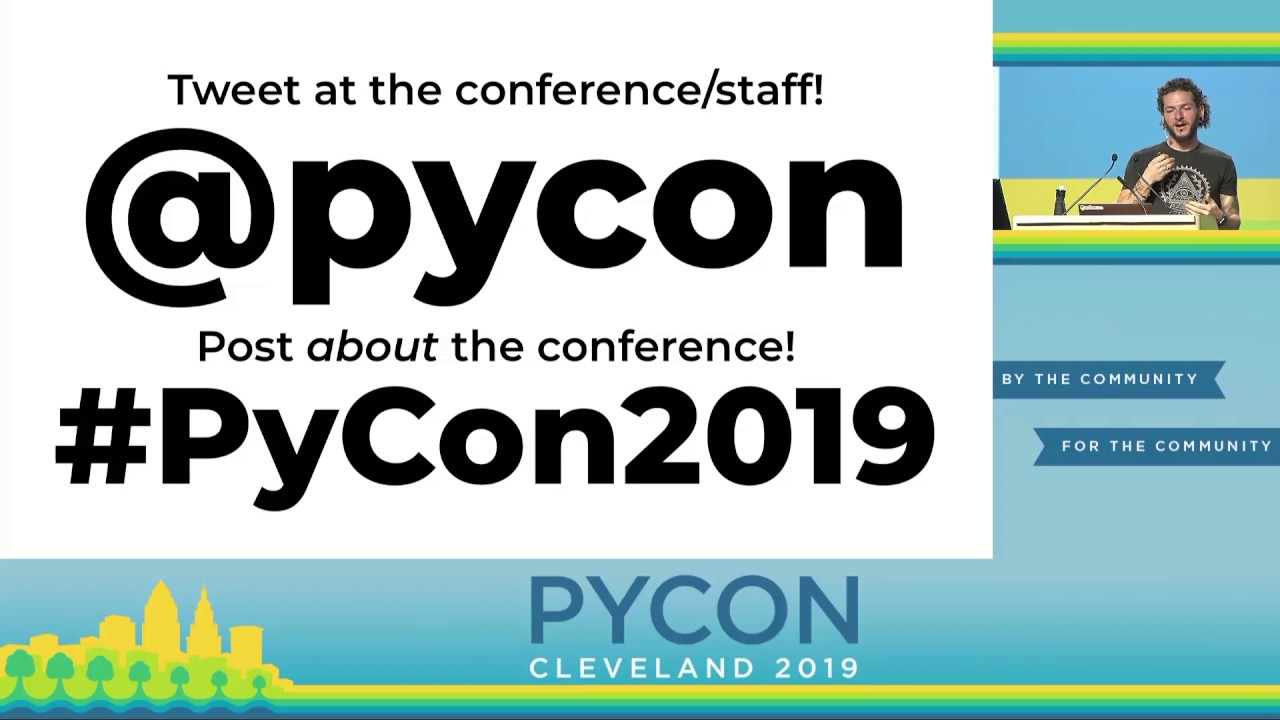 Image from Welcome and Housekeeping of PyCon 2019