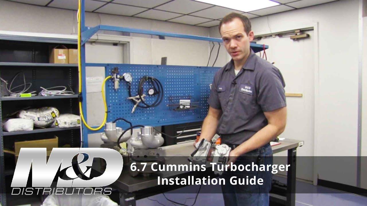 6 7L ISB Cummins Turbo Actuator Rebuild Kit 4034309H   M&D