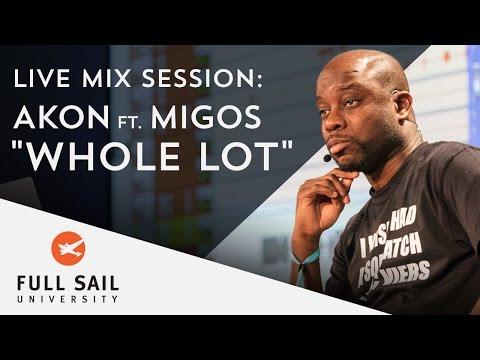 "Live Mix Session: AKON featuring Migos ""Whole Lot"""