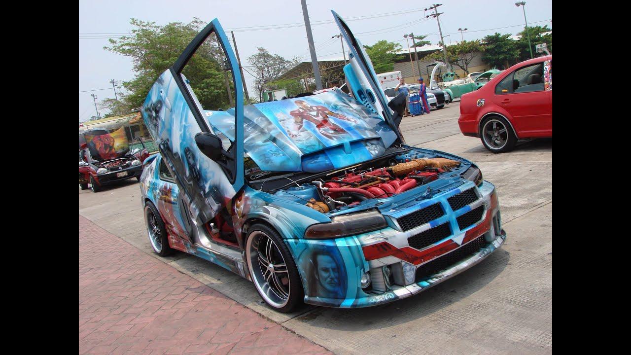 1a EXHIBICION AUTOS MODIFICADOS TABASCO 2013 - YouTube