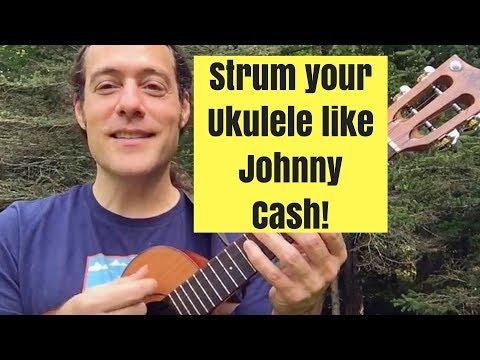 Johnny Cash's Favorite Ukulele Strum! (