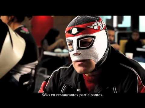 Lucha Libre Aaa Octagón Vs La Parka Comercial Burger King 2011