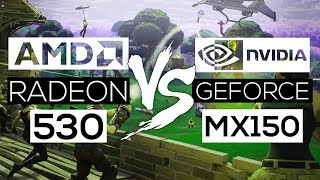 NVIDIA Geforce MX150 VS AMD Radeon 530! - Gaming Comparison!