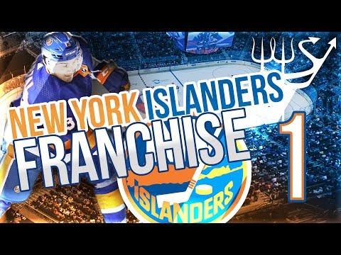 New York Islanders NHL 19 Franchise Mode - Ep. 1