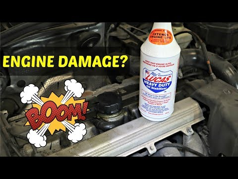 Can Too Much Lucas Oil Be Bad For My Engine?